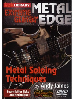 Lick Library: Metal Edge - Metal Soloing Techniques DVDs / Videos | Guitar