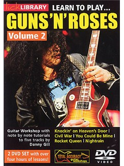 Lick Library: Learn To Play Guns 'N' Roses - Volume 2 (2DVD set) DVDs / Videos | Guitar