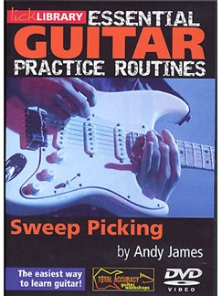 Lick Library: Essential Practice Routines - Sweep Picking DVDs / Videos | Guitar