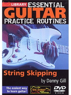 Essential Guitar Practice Routines: String Skipping DVDs / Videos | Guitar
