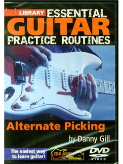 Lick Library: Essential Guitar Practice Routines - Alternate Picking DVDs / Videos | Guitar
