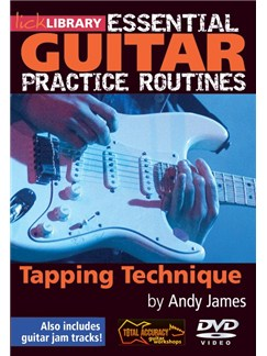 Lick Library: Essential Practice Routines - Tapping Technique DVDs / Videos   Guitar