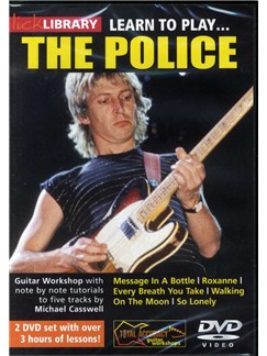 Lick Library: Learn To Play The Police DVDs / Videos | Guitar