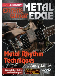 Lick Library: Metal Edge - Metal Rhythm Techniques DVDs / Videos | Guitar
