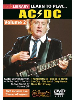 Lick Library: Learn To Play AC/DC - Volume 2 DVDs / Videos | Guitar