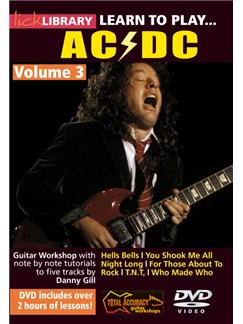 Lick Library: Learn To Play AC/DC - Volume 3 DVDs / Videos | Guitar