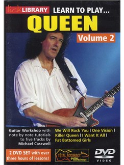 Lick Library: Learn To Play Queen Vol. 2 (2 DVD) DVDs / Videos | Guitar