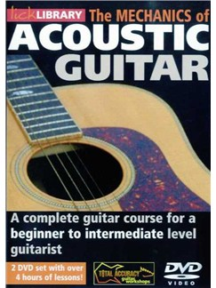 Lick Library: The Mechanics Of Acoustic Guitar (2 DVD) DVDs / Videos | Acoustic Guitar
