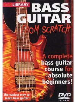 Lick library bass guitar from scratch
