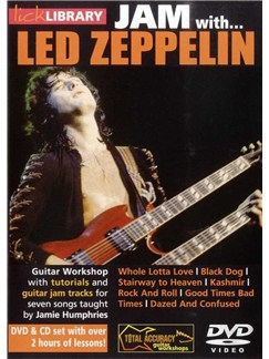 Lick Library: Jam With Led Zeppelin DVDs / Videos | Guitar