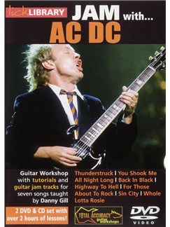 Lick Library: Jam With AC/DC CDs and DVDs / Videos | Guitar