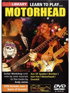 Lick Library: Learn To Play Motorhead DVDs / Videos | Guitar