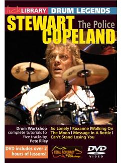 Drum Legends: Stewart Copeland DVDs / Videos | Drums
