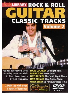 Lick Library: Learn To Play Rock And Roll Classic Tracks Vol. 2 (2 DVD) DVDs / Videos | Guitar