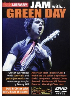 Lick Library: Jam With Green Day CDs and DVDs / Videos | Guitar
