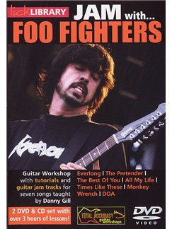 Lick Library: Jam With... The Foo Fighters CDs and DVDs / Videos | Guitar