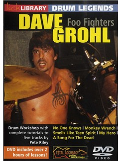 Lick Library: Drum Legends - Dave Grohl DVDs / Videos | Drums