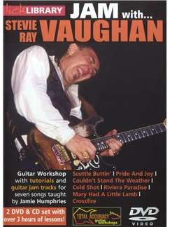 Lick Library: Jam With Stevie Ray Vaughan CDs and DVDs / Videos | Electric Guitar