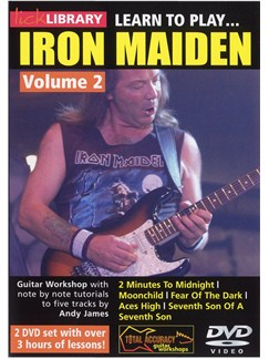 Lick Library: Learn To Play Iron Maiden - Volume 2 DVDs / Videos | Electric Guitar