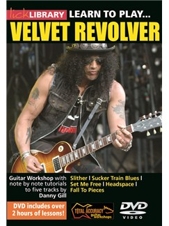 Lick Library: Learn To Play... Velvet Revolver DVDs / Videos | Guitar