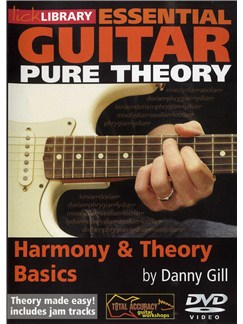Lick Library: Essential Guitar - Pure Theory - Basics DVDs / Videos | Guitar