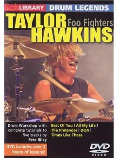 Lick Library: Drum Legends - Taylor Hawkins DVDs / Videos | Drums