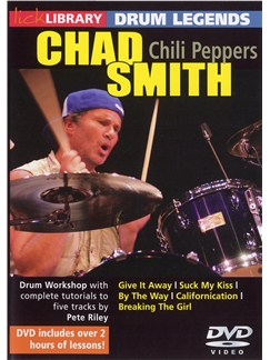 Lick Library: Drum Legends - Chad Smith DVDs / Videos | Drums