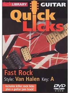 Lick Library: Quick Licks - Van Halen Fast Rock (DVD) DVDs / Videos | Guitar