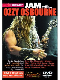 Lick Library: Jam With... Ozzy Osbourne CDs and DVDs / Videos | Guitar