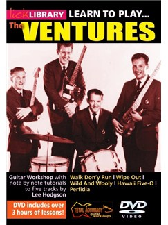 Lick Library: Learn To Play The Ventures DVDs / Videos | Guitar