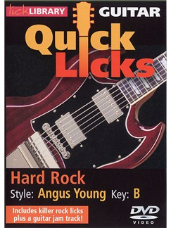 Lick Library: Quick Licks - Angus Young Hard Rock DVDs / Videos | Electric Guitar