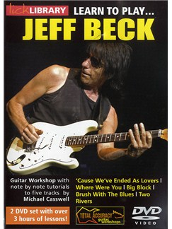 Lick Library: Learn to Play Jeff Beck 2 DVD Set DVDs / Videos | Guitar