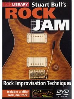 Lick Library: Stuart Bull's Rock Jam - Rock Improvisation Techniques DVDs / Videos | Guitar