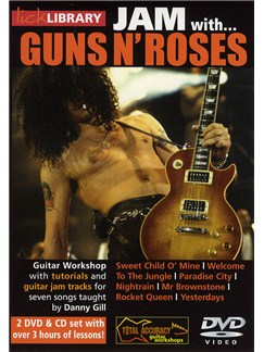 Lick Library: Jam with Guns n' Roses (2 DVD and CD Set) CDs and DVDs / Videos | Guitar