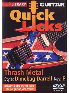 Lick Library: Quick Licks - Dimebag Darrell Thrash Metal DVDs / Videos | Electric Guitar