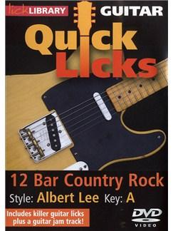 Lick Library: Quick Licks - Albert Lee 12 Bar Country Rock DVDs / Videos | Guitar