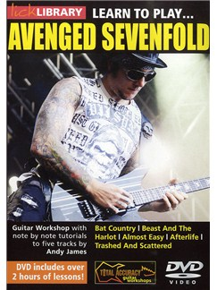 Lick Library: Learn To Play Avenged Sevenfold DVDs / Videos | Guitare
