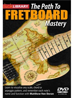 Lick Library: The Path to Fretboard Mastery (DVD) DVDs / Videos | Guitar