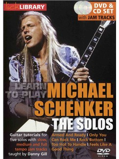 Lick Library: Learn To Play Michael Schenker - The Solos CDs and DVDs / Videos | Guitar