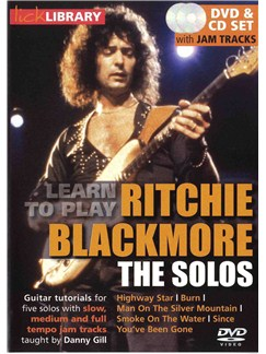 Lick Library: Learn To Play Ritchie Blackmore - The Solos CDs and DVDs / Videos | Guitar