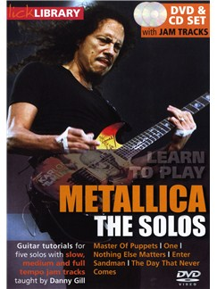 Lick Library: Learn To Play Metallica - The Solos CDs and DVDs / Videos | Electric Guitar
