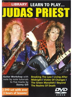 Lick Library: Learn To Play Judas Priest DVDs / Videos | Guitar