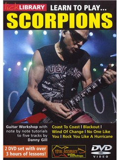 Lick Library: Learn To Play Scorpions DVDs / Videos | Electric Guitar