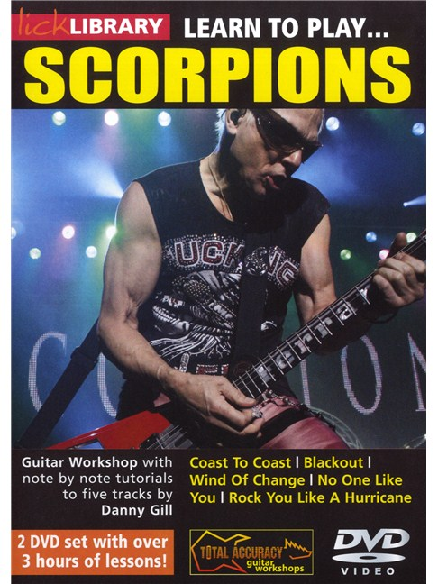 Lick Library: Learn To Play Scorpions - Electric Guitar Books ...