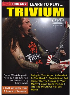 Lick Library: Learn To Play Trivium DVDs / Videos | Electric Guitar