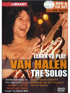 Lick Library: Learn To Play Eddie Van Halen - The Solos CDs and DVDs / Videos | Electric Guitar
