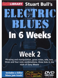 Lick Library: Stuart Bull's Electric Blues In 6 Weeks: Week 2 DVDs / Videos | Guitar