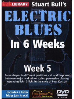 Lick Library: Stuart Bull's Electric Blues In 6 Weeks: Week 5 DVDs / Videos | Guitar