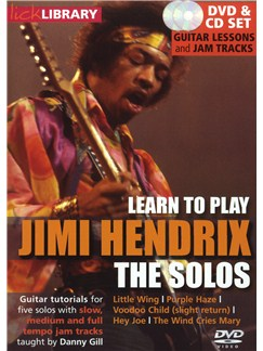 Lick Library: Learn To Play Jimi Hendrix - The Solos CDs and DVDs / Videos | Guitar