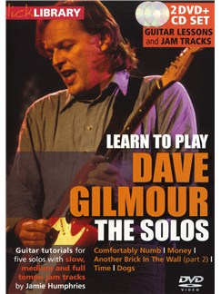 Lick Library: Learn To Play Dave Gilmour - The Solos CDs and DVDs / Videos | Guitar